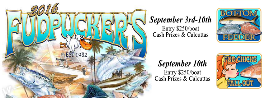 fudpuckers fishing tournament